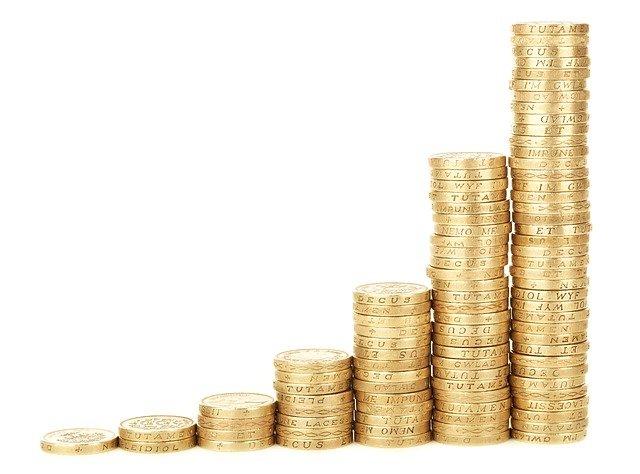 rostoucí příjmy