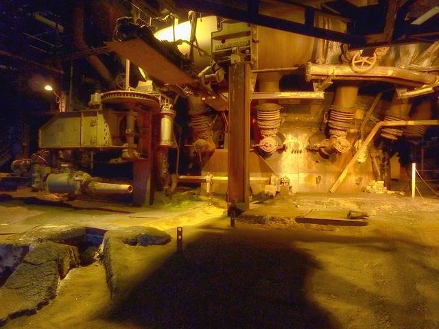německé železárny
