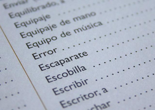 španělská slova
