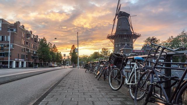 nizozemsko větrný mlýn