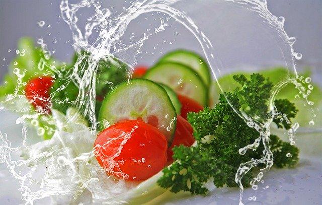 nakrájená zelenina na uložení do mrazáku