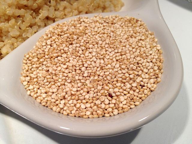 sušená quinoa