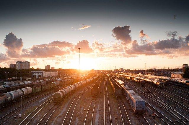 seřadiště vlaků